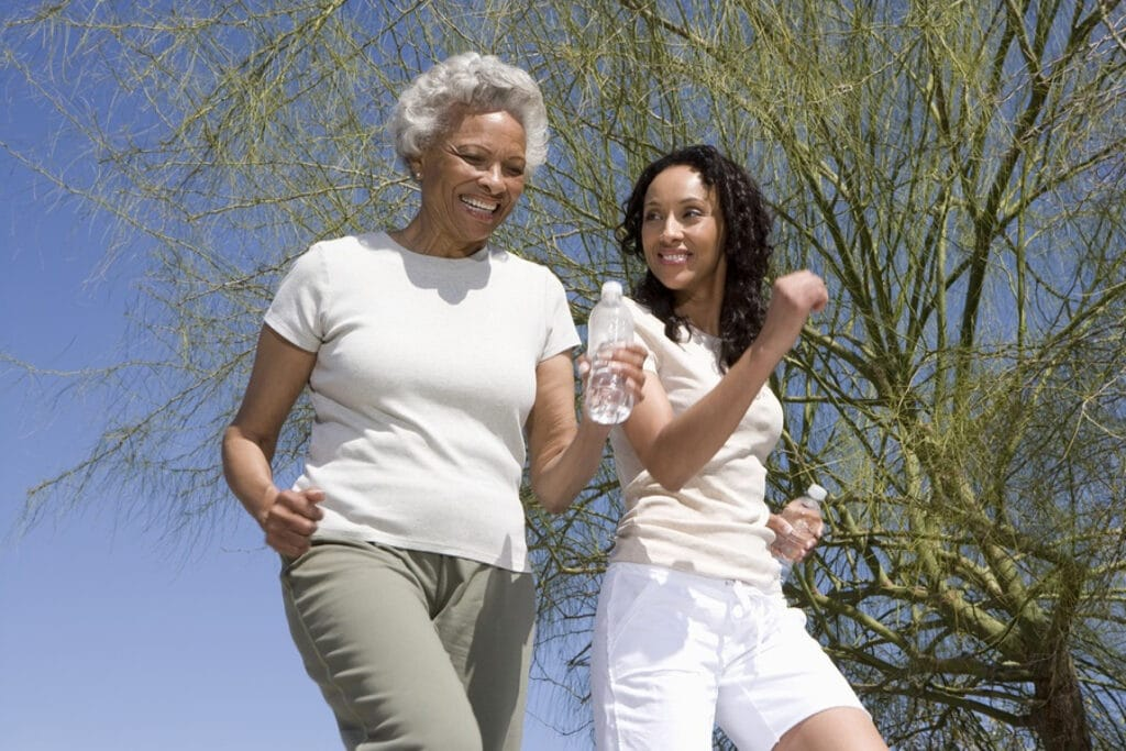 Home Care in San Clemente CA: Benefits of Walking